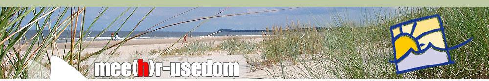 Usedom am Strand der Insel Usedom